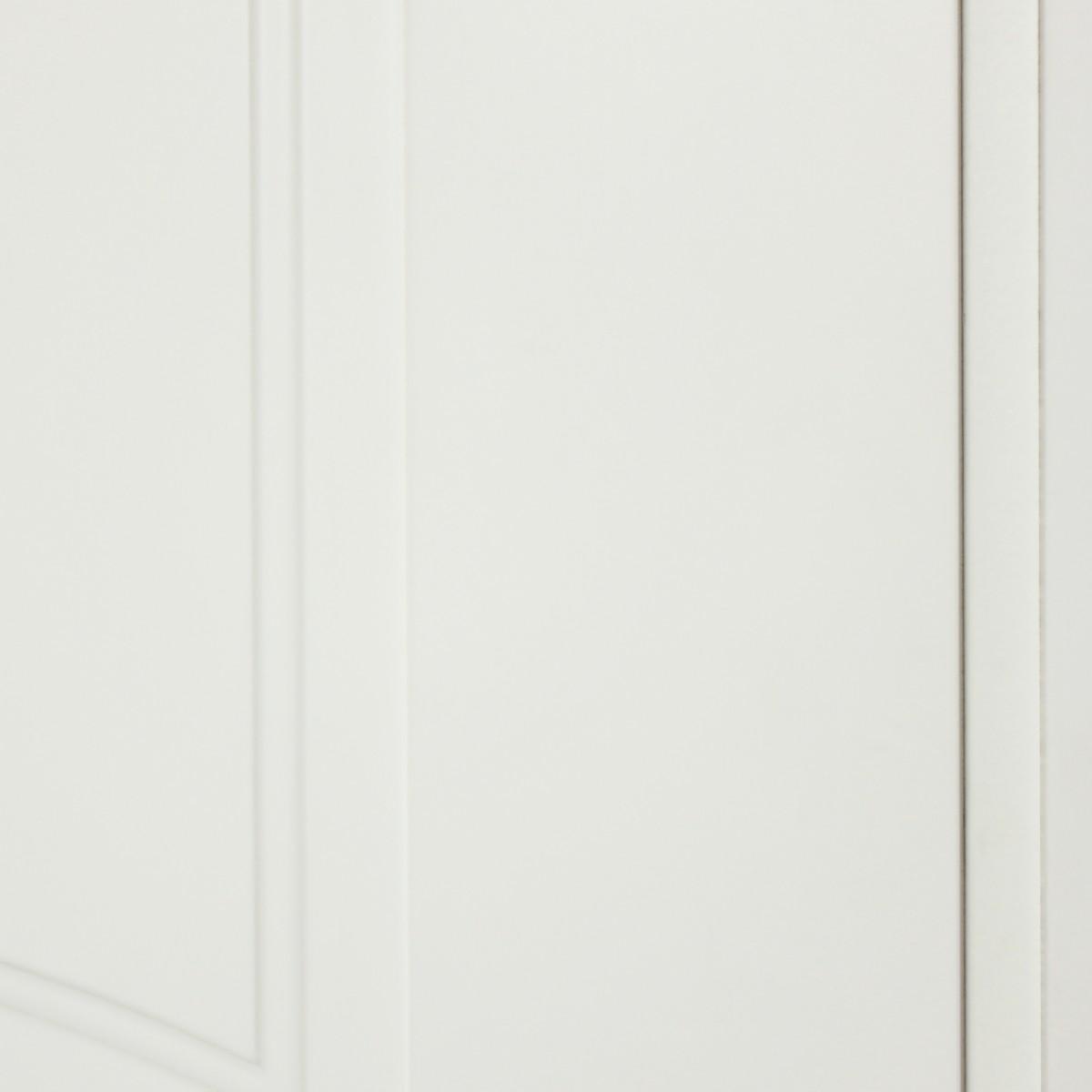 Дверь Межкомнатная Глухая Дэлия 80x200 Цвет Белый