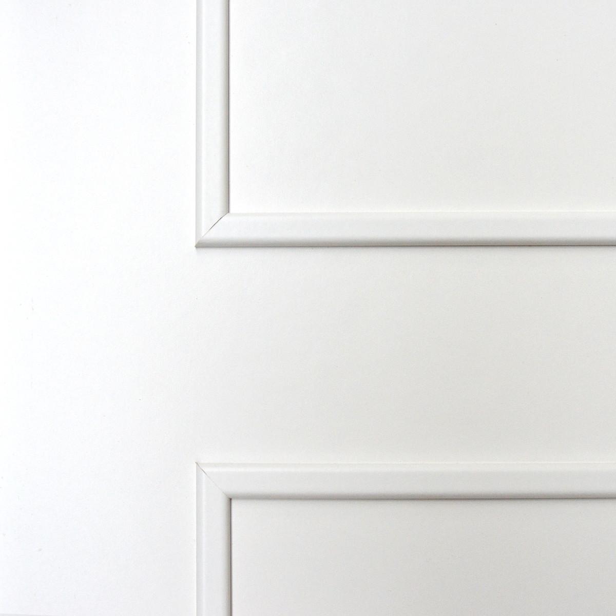 Дверь Межкомнатная Глухая Ламинированная Классика 70x200 Цвет Белый