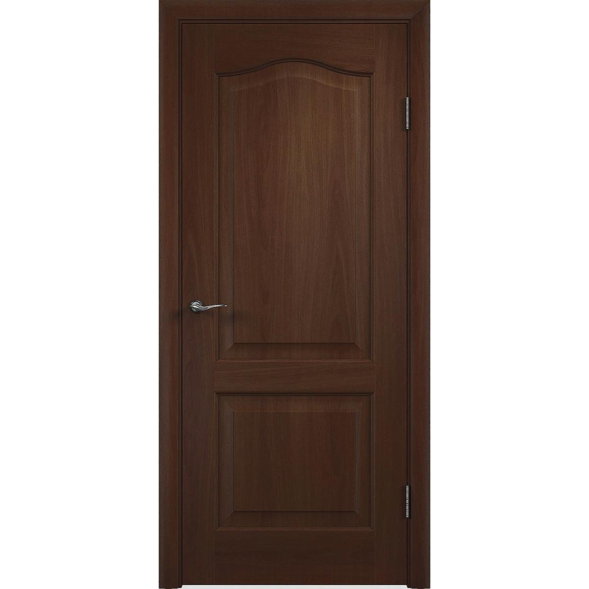 Дверь Межкомнатная Глухая Пвх Антик 70x200 Цвет Итальянский Орех