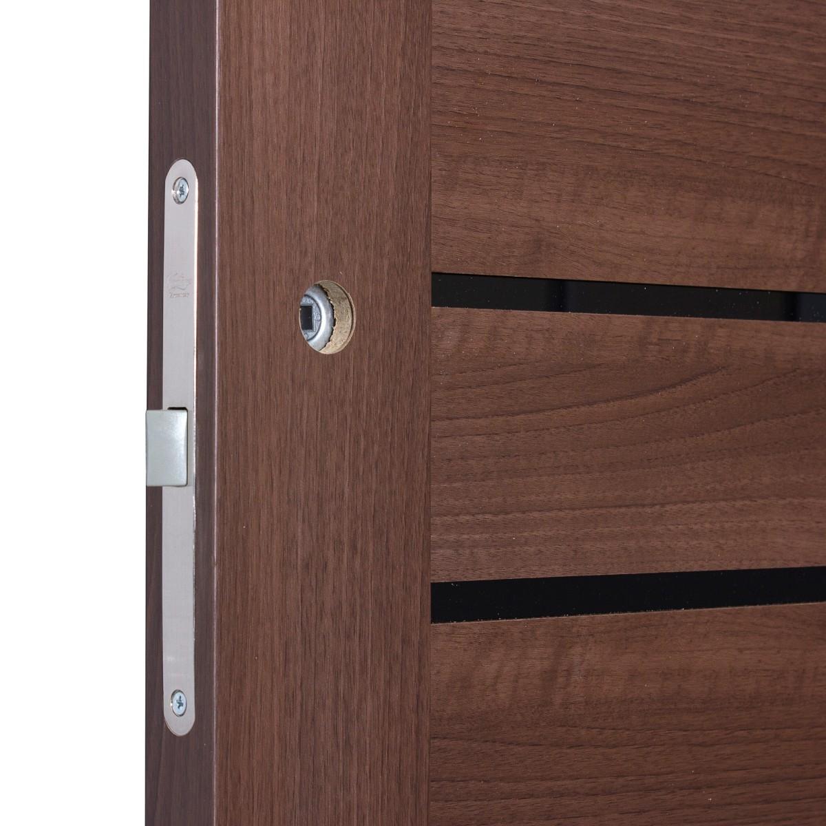 Дверь Межкомнатная Глухая Artens Велдон 80x200 Цвет Мокко Без Фурнитуры