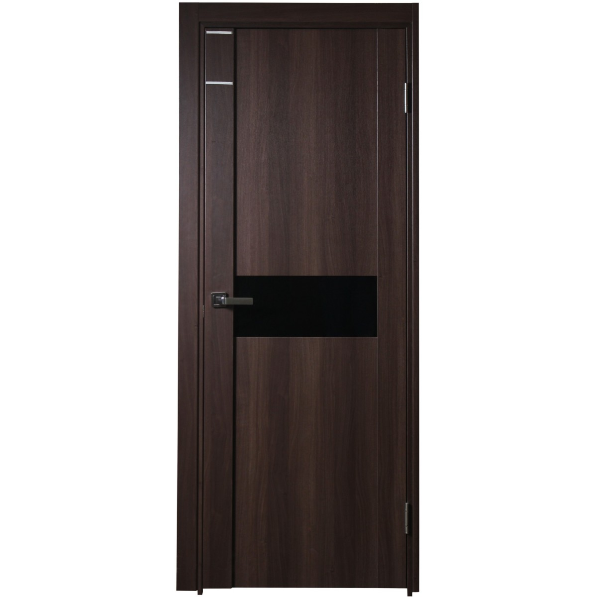 Дверь межкомнатная остеклённая Artens Велдон 60x200 см цвет мокко без фурнитуры
