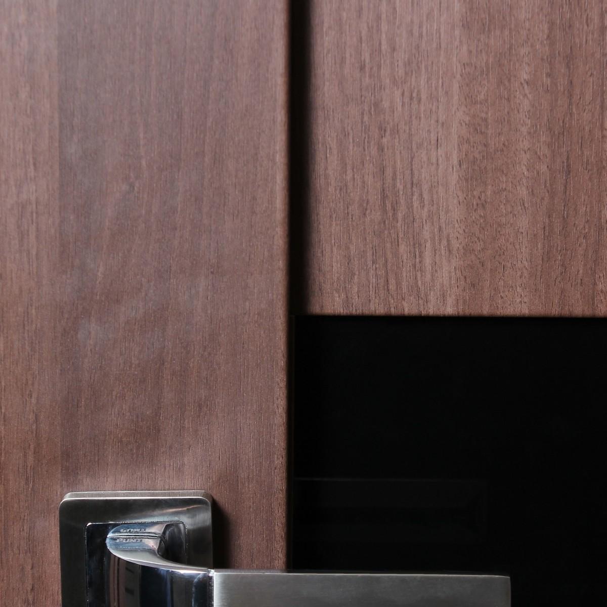Дверь Межкомнатная Остеклённая Artens Велдон 90x200 Цвет Мокко Без Фурнитуры