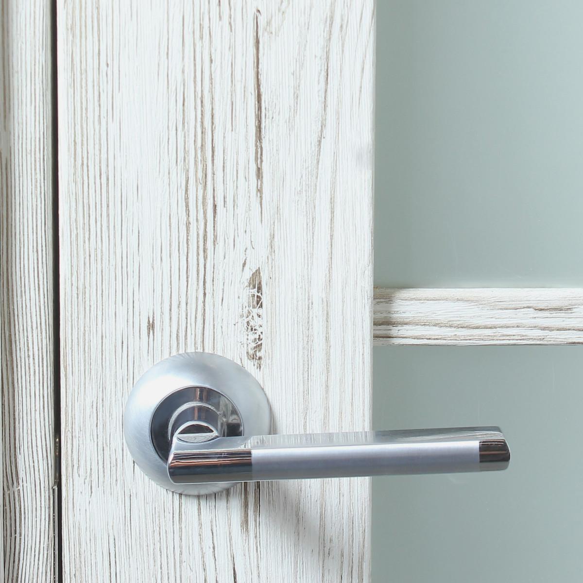 Дверь Межкомнатная Остеклённая Рустик 70x200 Цвет Северная Сосна