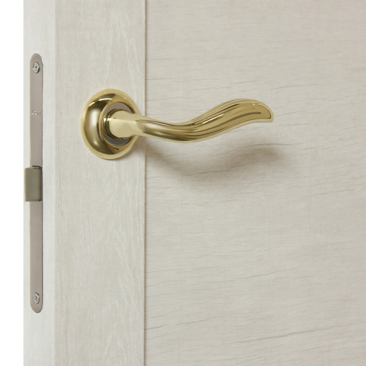 Дверь Межкомнатная Глухая Техно 70x200 Цвет Серый Дуб