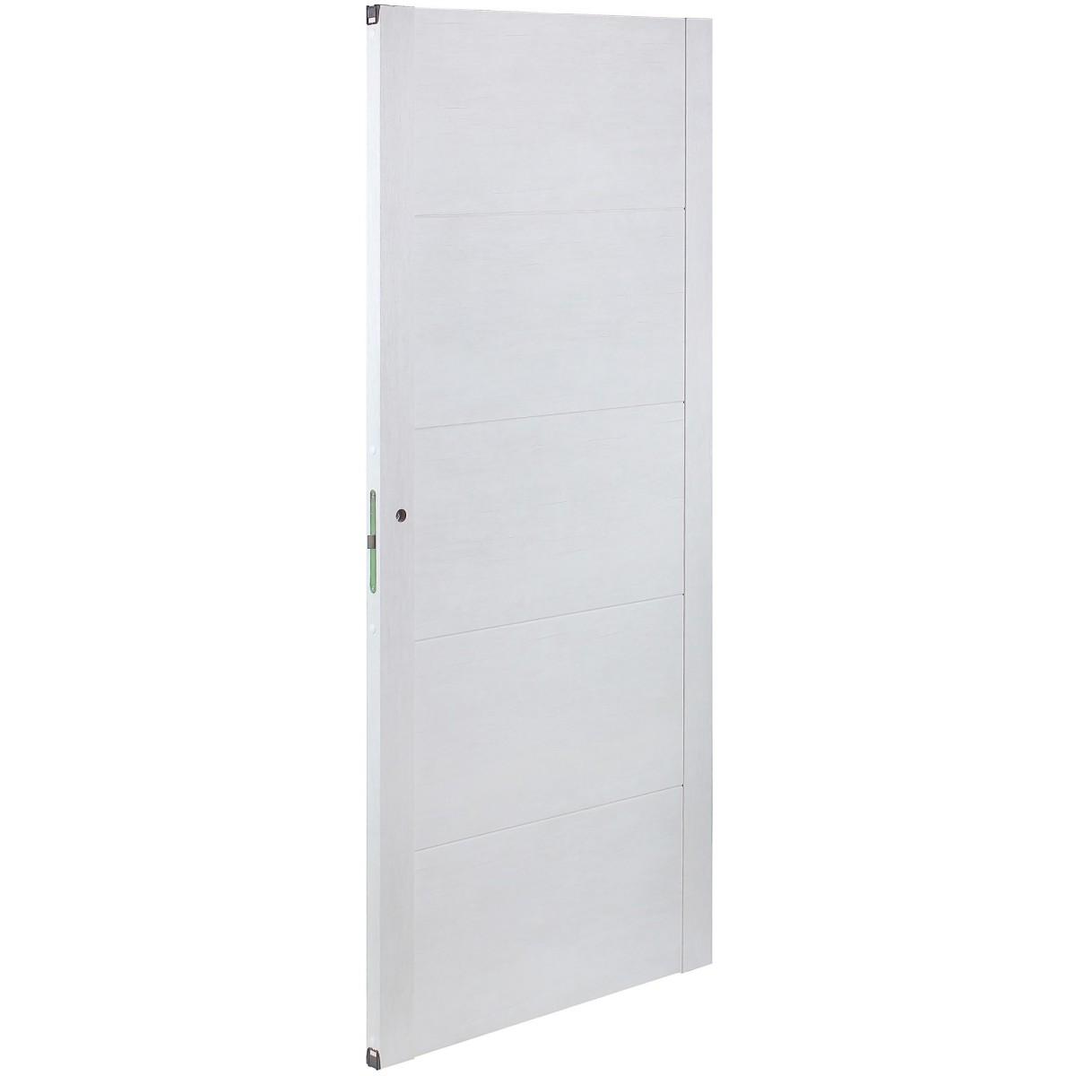 Дверь Межкомнатная Глухая Техно 90x200 Цвет Серый Дуб