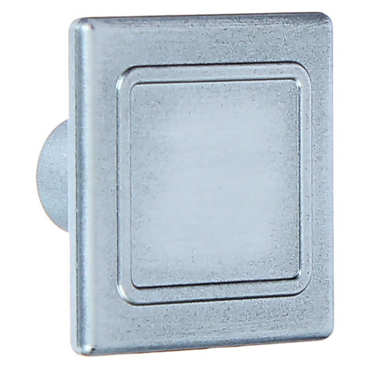 Ручка-кнопка 87 цвет состаренное серебро