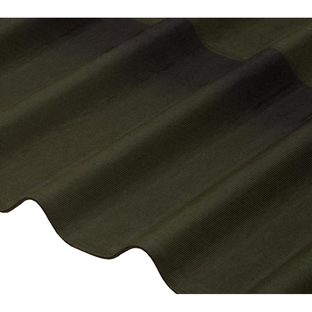 Черепица Ондулин DIY 3x820х1950 мм зеленый