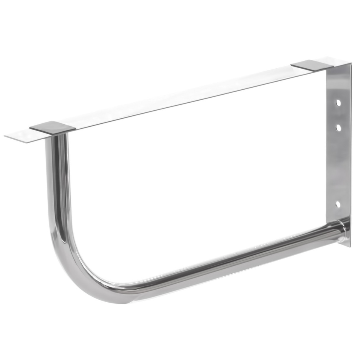 Кронштейн 450х245 мм нержавеющая сталь 2 шт.