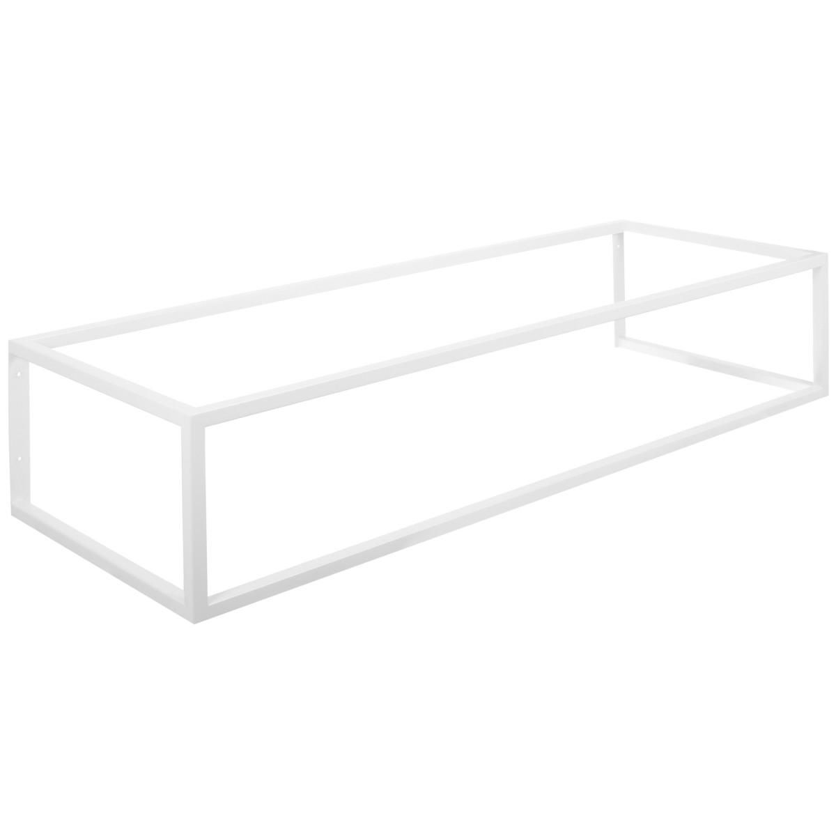 Кронштейн подвесной для столешницы 1195х450х250 см цвет белый