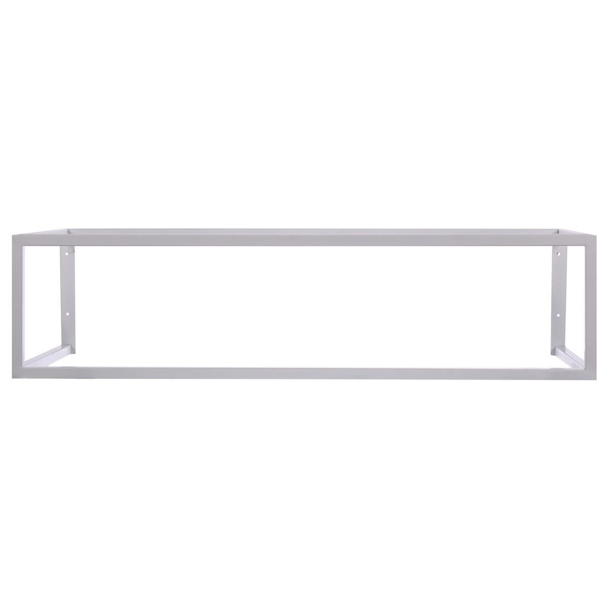 Кронштейн подвесной для столешницы 995х450х250 см цвет белый