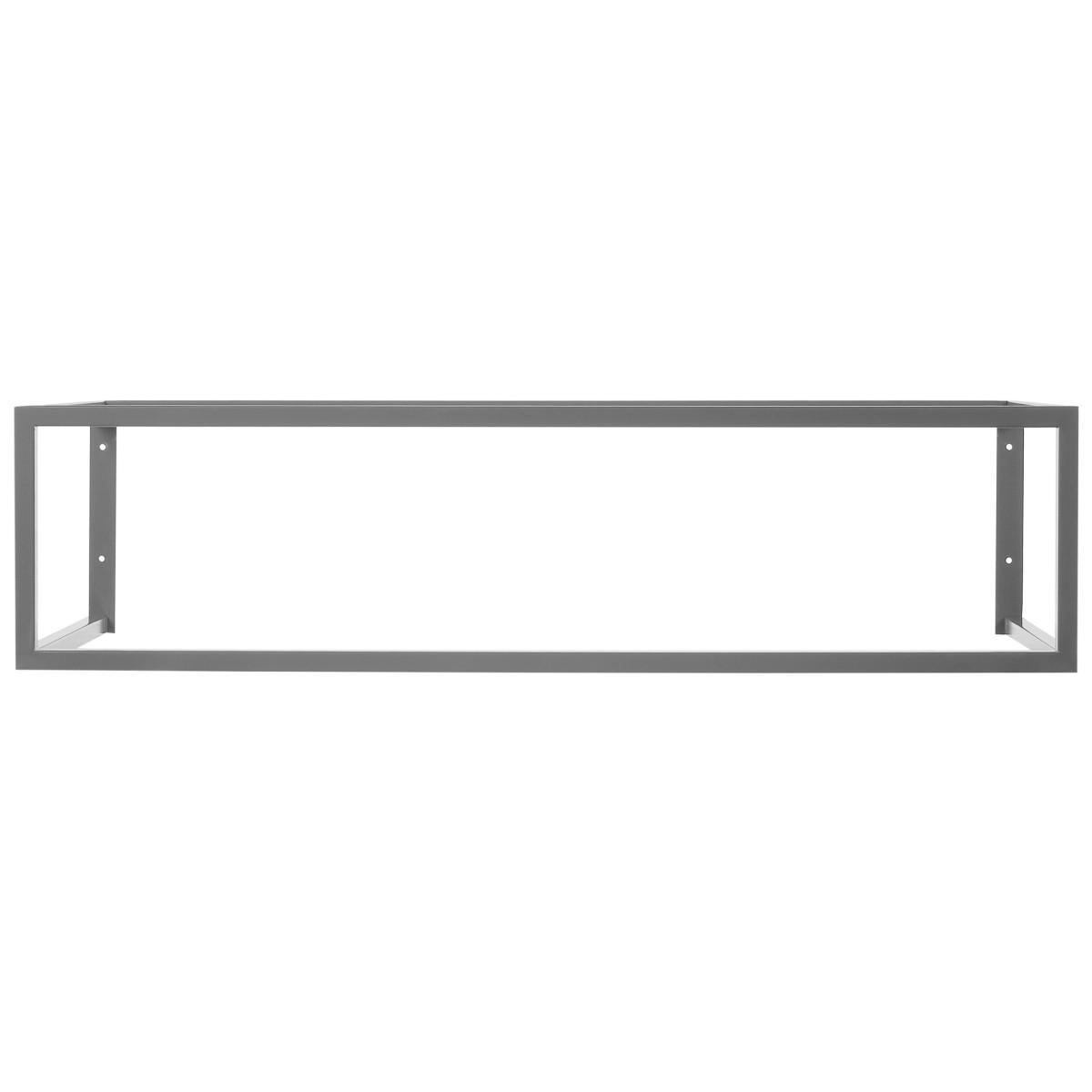 Кронейн Подвесной Для Столешницы 995Х450Х250 Цвет Серый