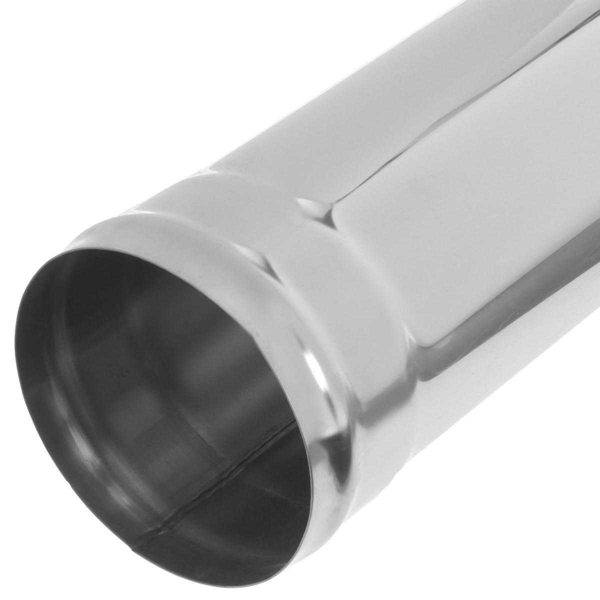 Дымоход 1.0 м 430/0.8 мм D120 мм