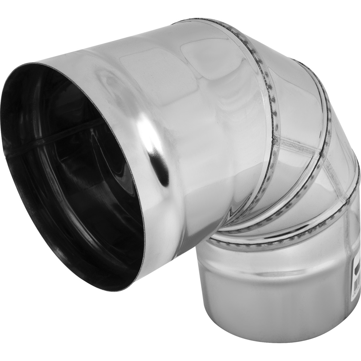 Колено 4 секции угол 90 (430/0.5мм) D110 мм