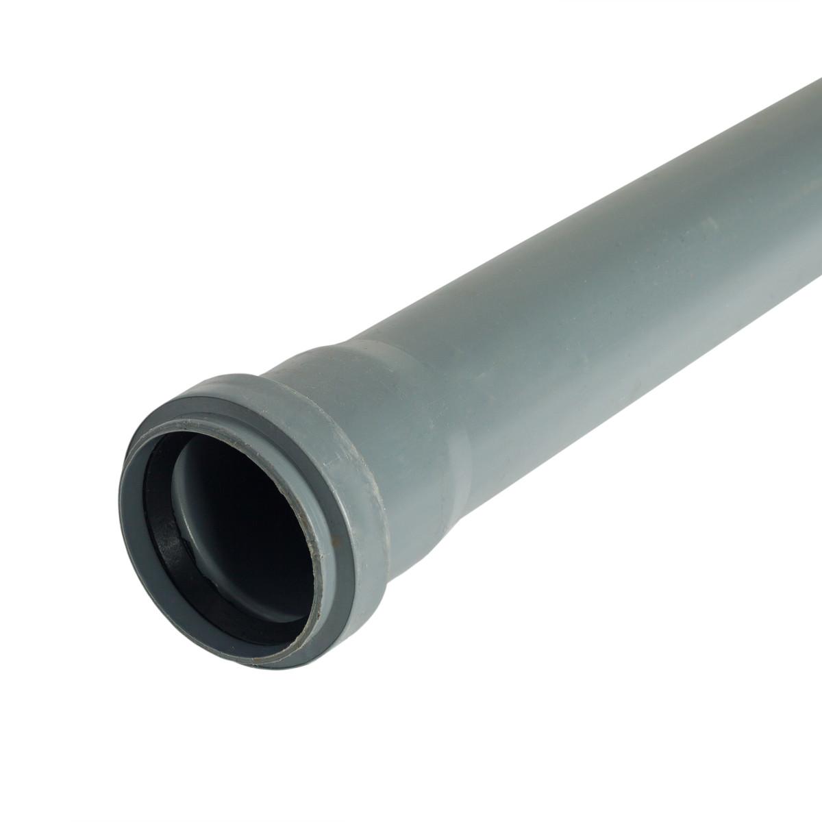 Труба канализационная D 50 мм L 3м полипропилен