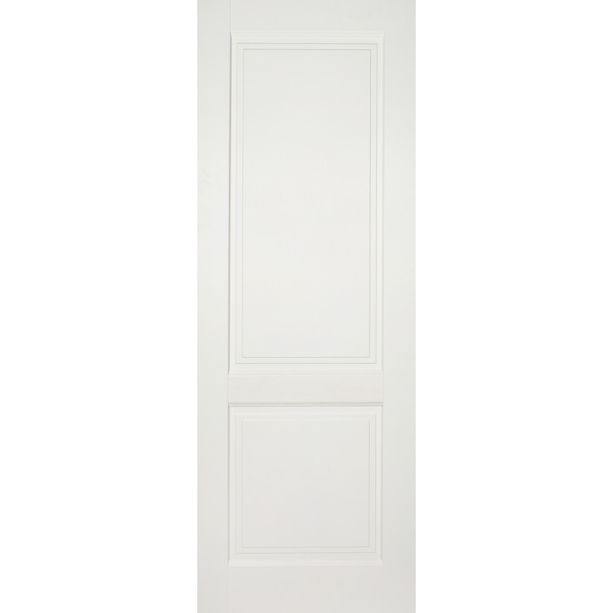 Дверь Межкомнатная Глухая Кристал 70x200 Цвет Пломбир