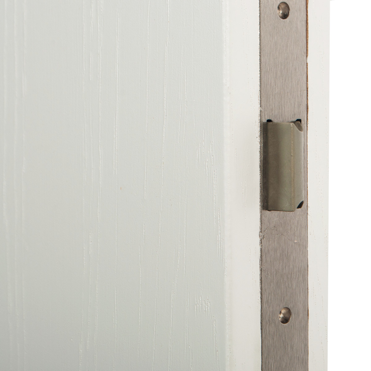 Дверь Межкомнатная Глухая Кристал 90x200 Цвет Пломбир