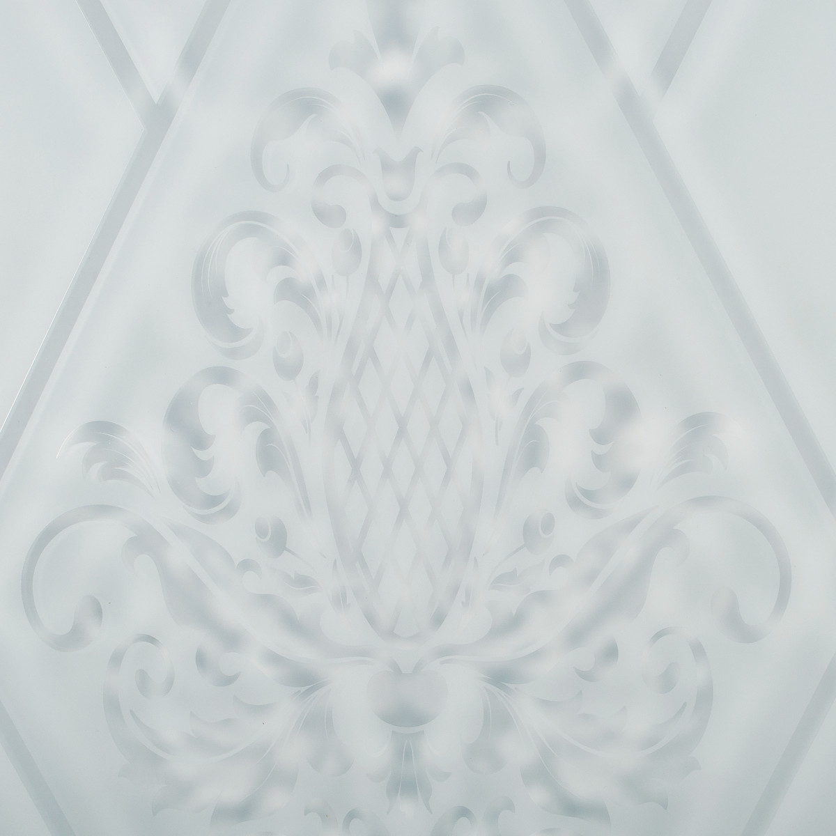 Дверь Межкомнатная Остеклённая Кристал 70x200 Цвет Пломбир