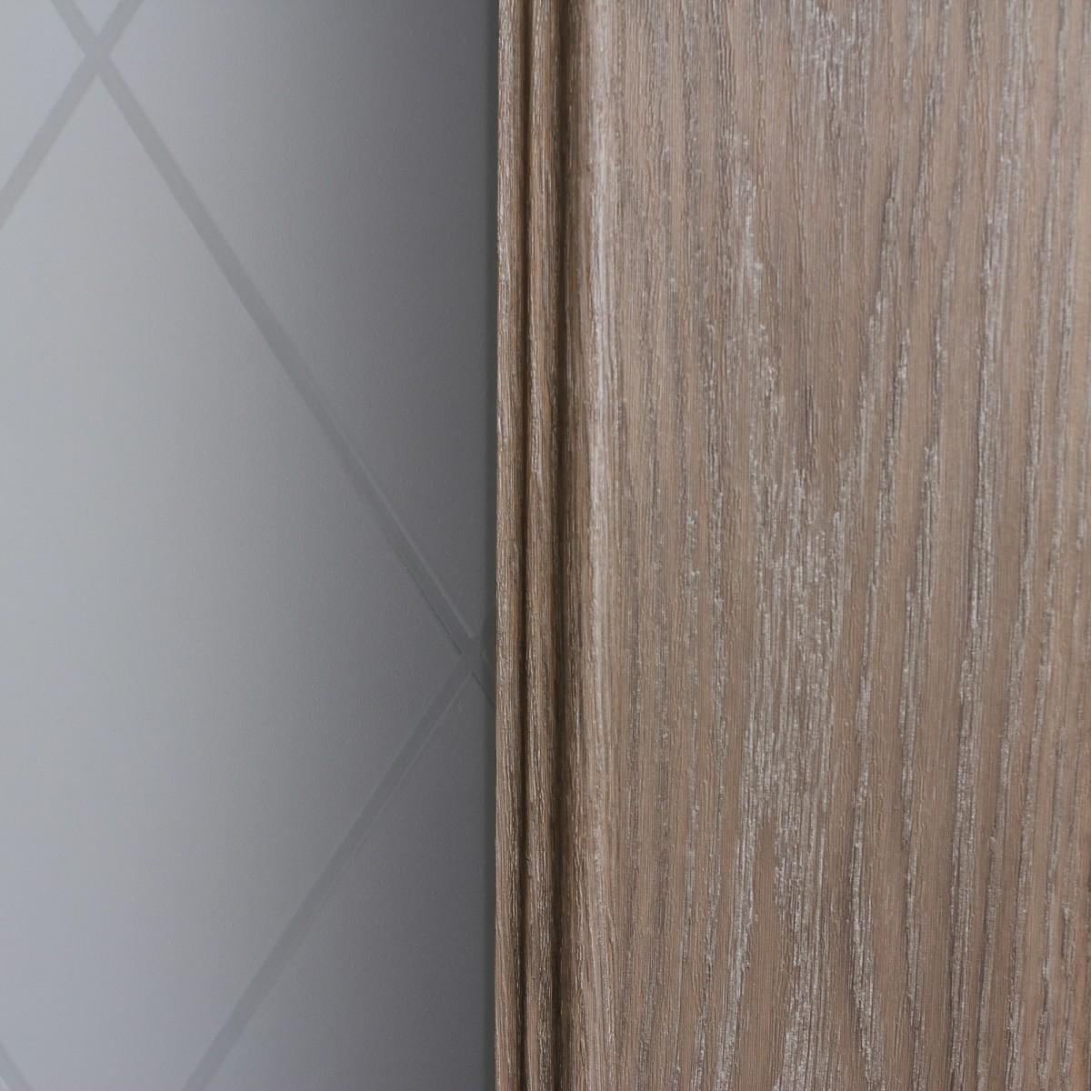 Дверь Межкомнатная Остеклённая Престиж 80x200 Цвет Натуральный Дуб