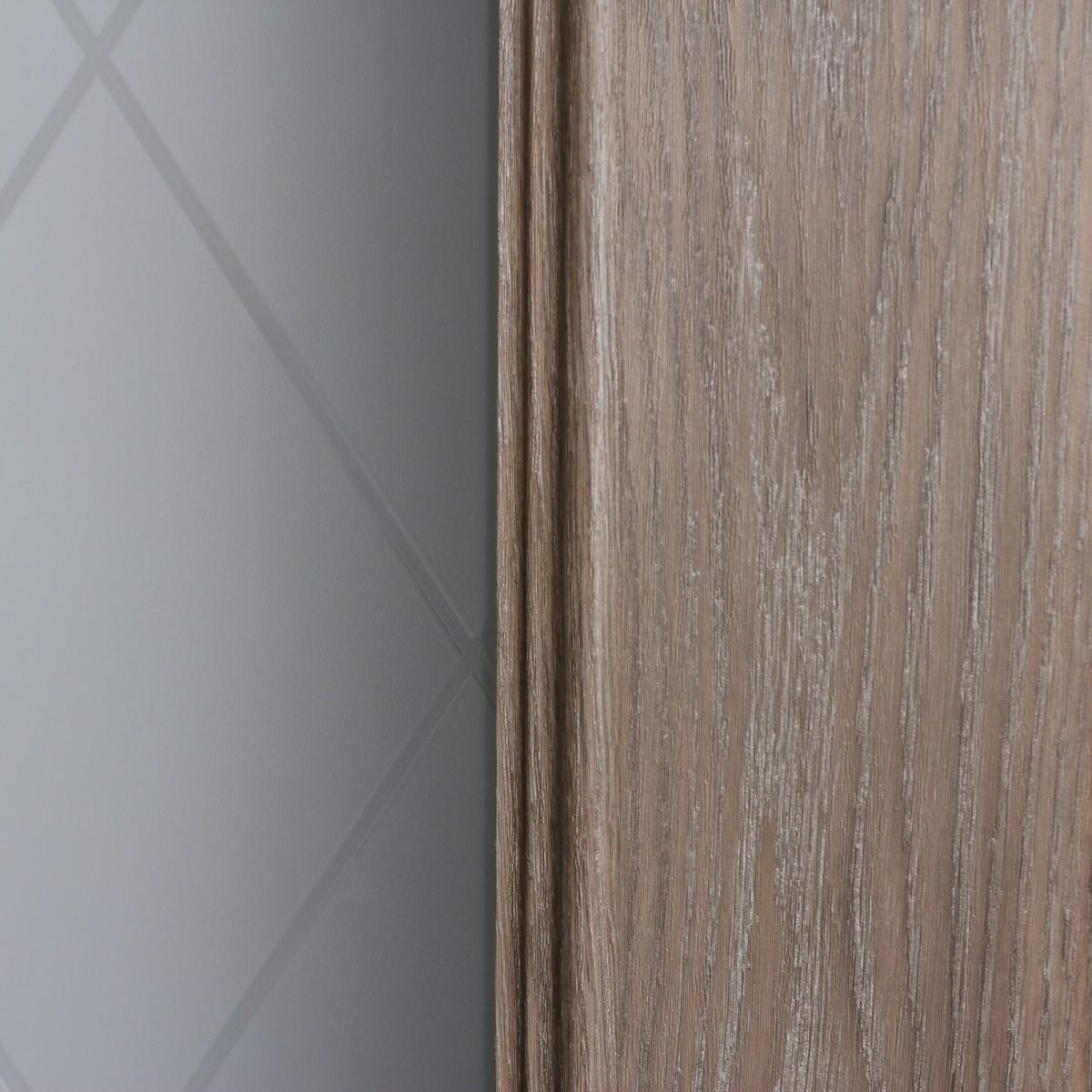 Дверь Межкомнатная Остеклённая Престиж 90x200 Цвет Натуральный Дуб