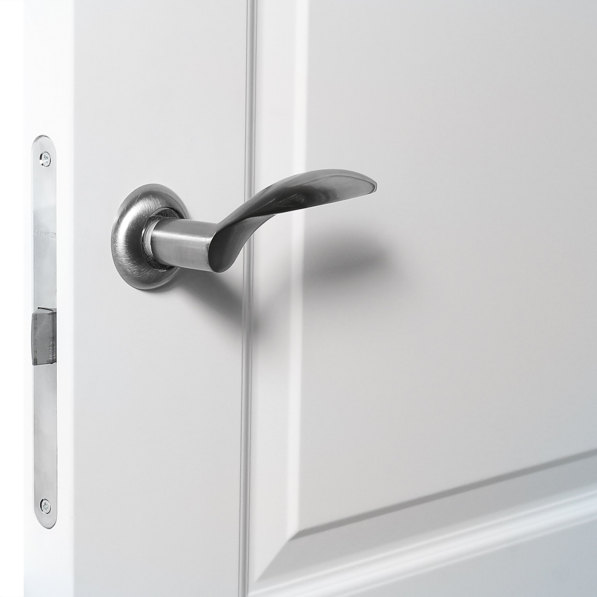 Дверь Межкомнатная Глухая Австралия 60x200 Цвет Белый