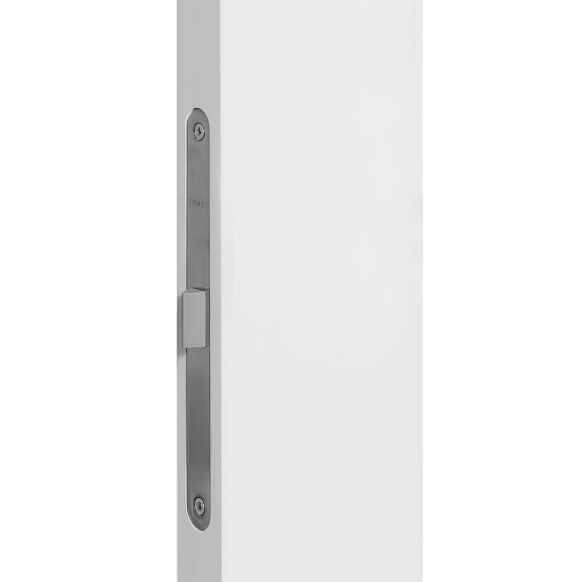 Дверь Межкомнатная Глухая С Замком В Комплекте Британия 90x200 Цвет Белый