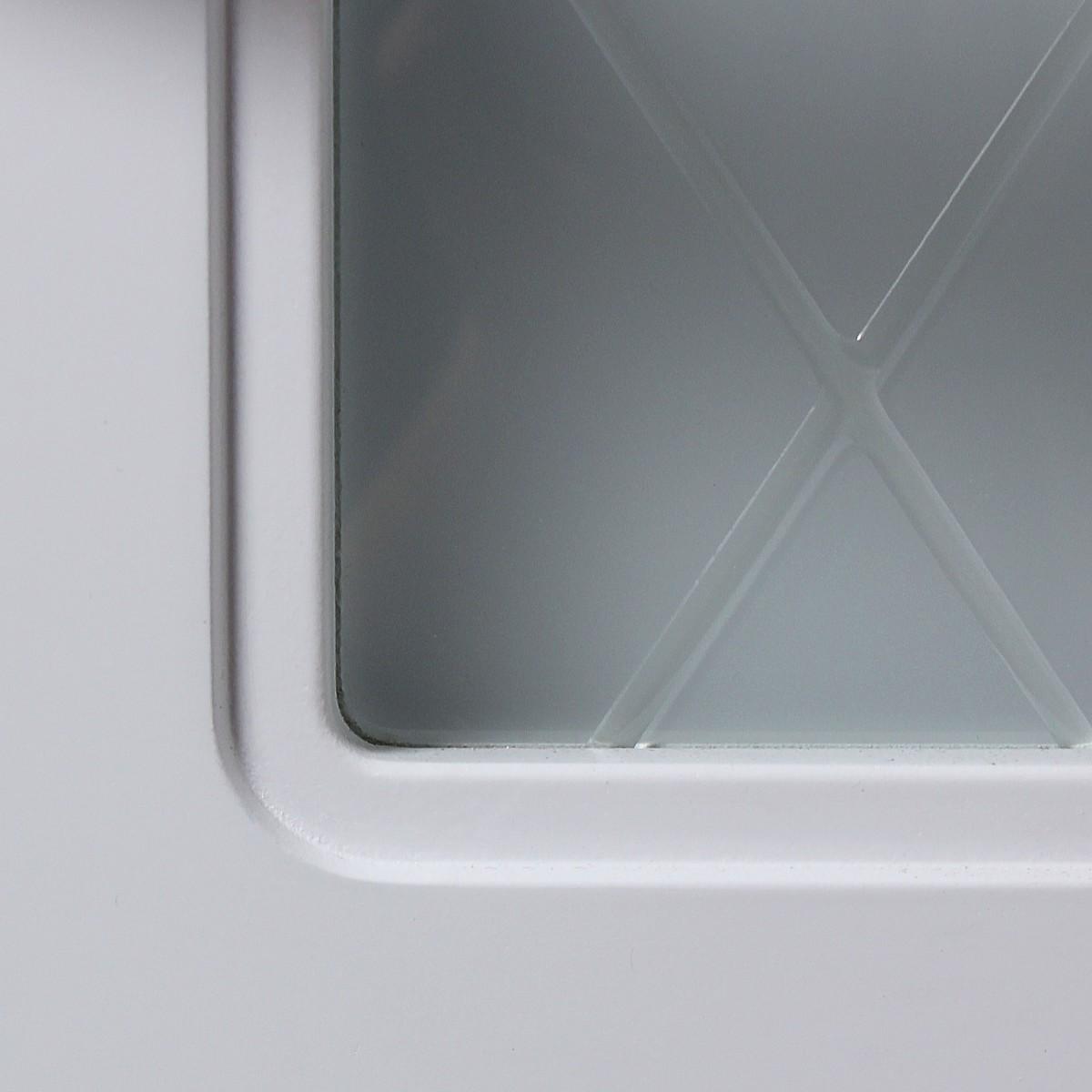 Дверь Межкомнатная Остеклённая Роялти 60x200 Цвет Белый