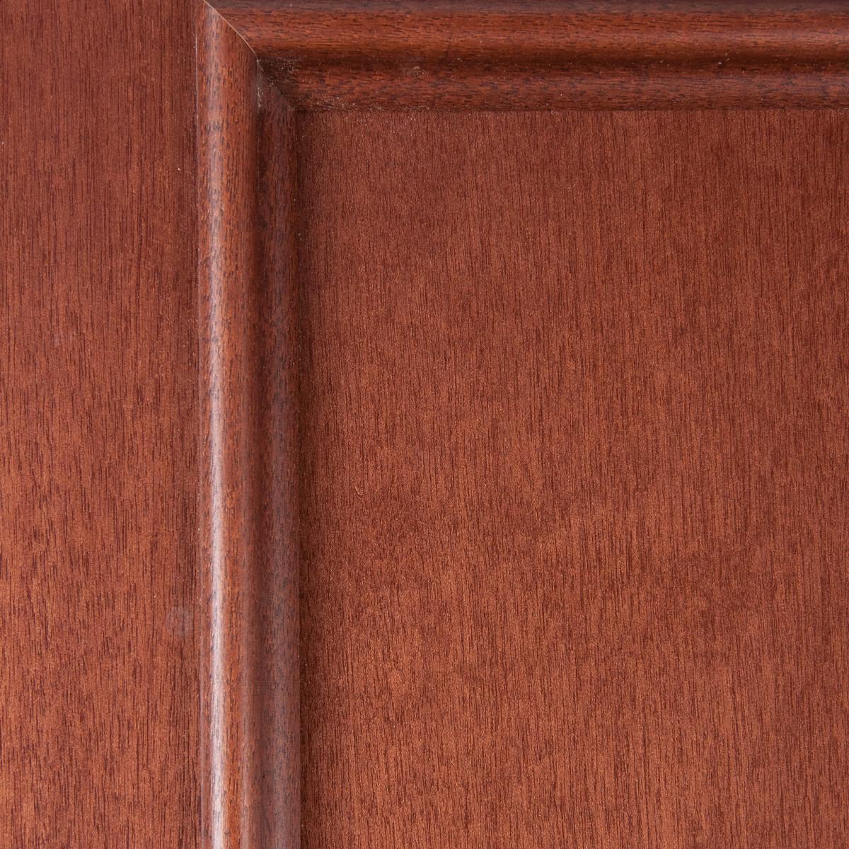 Дверь Межкомнатная Глухая Шпонированное Этерно 90x200 Цвет Итальянский Орех