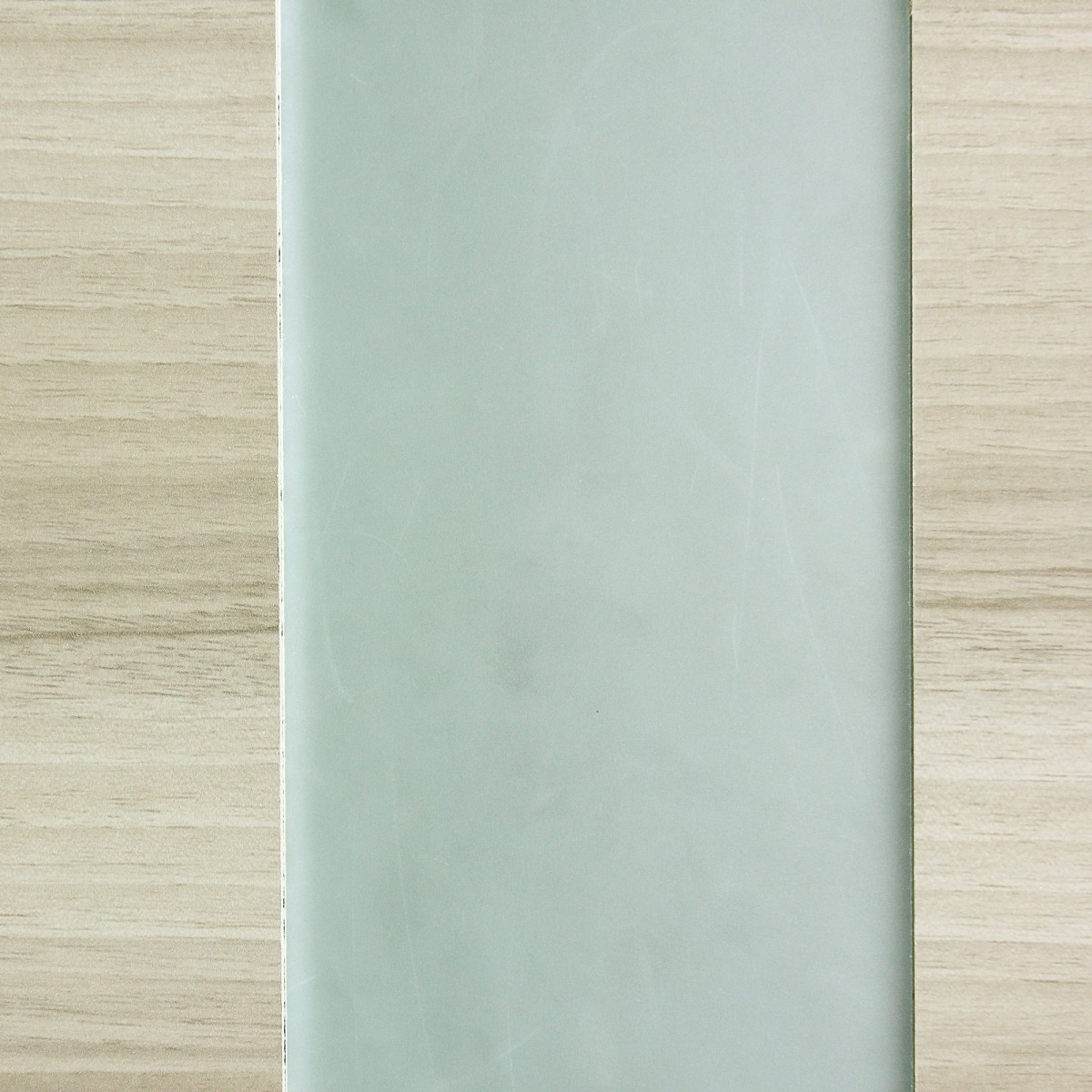 Дверь Межкомнатная Остеклённая Ламинированная Унико 90x200 Цвет Светлый Орех