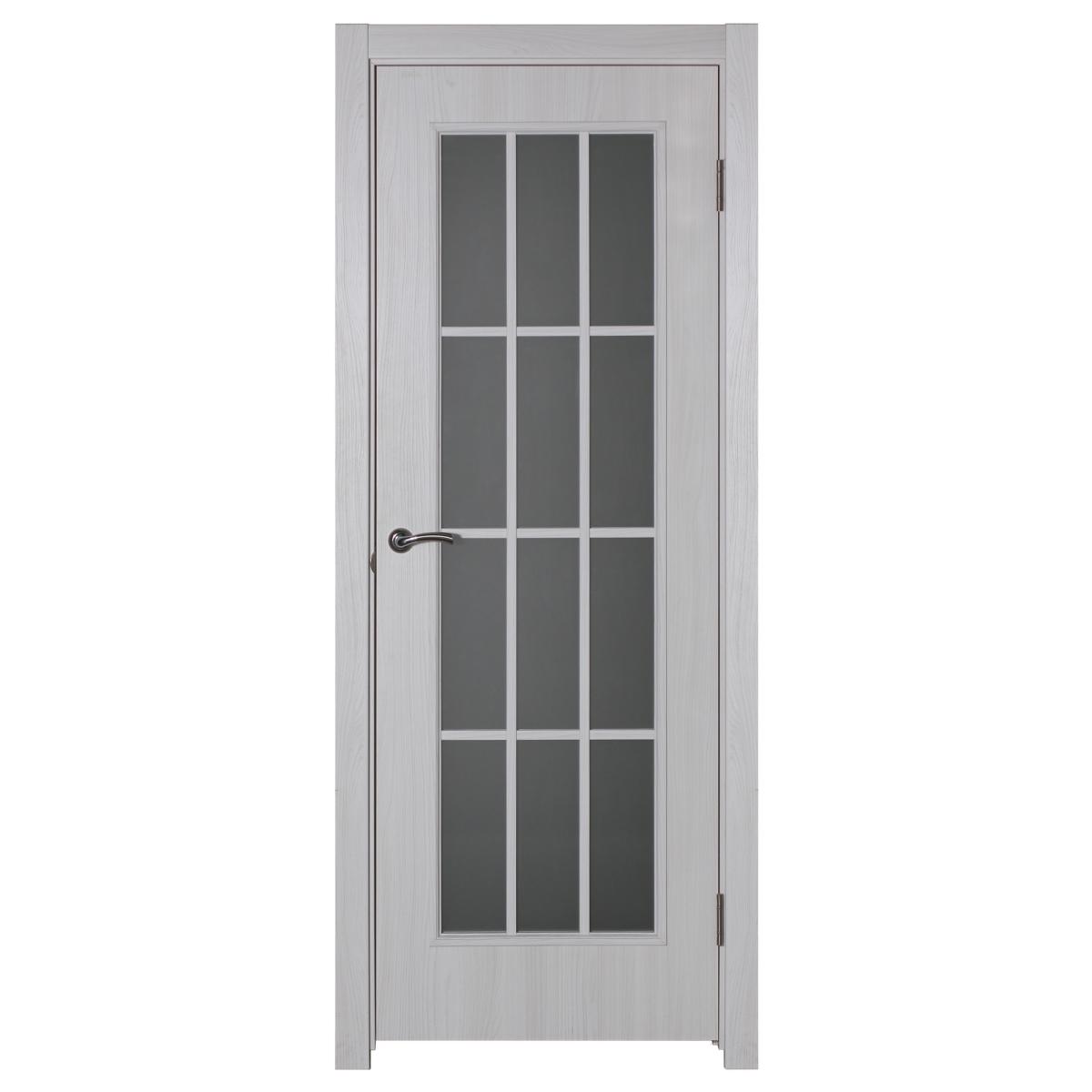 Дверь межкомнатная остеклённая Провенца 70x200 см цвет