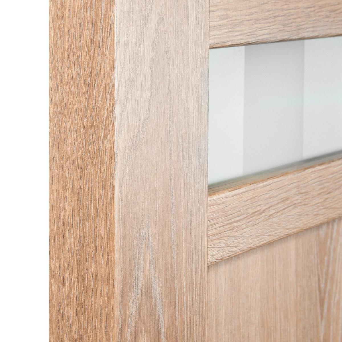 Дверь Межкомнатная Глухая Риволо 80x200 Цвет Натуральный Дуб