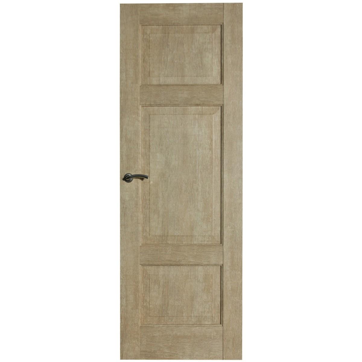 Дверь межкомнатная глухая Антико 60x200 см цвет винтажный дуб