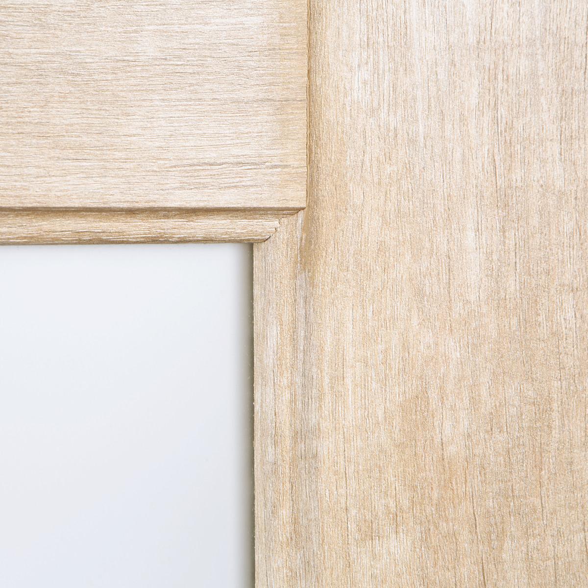 Дверь Межкомнатная Остеклённая Антико 60x200 Цвет Винтажный Дуб