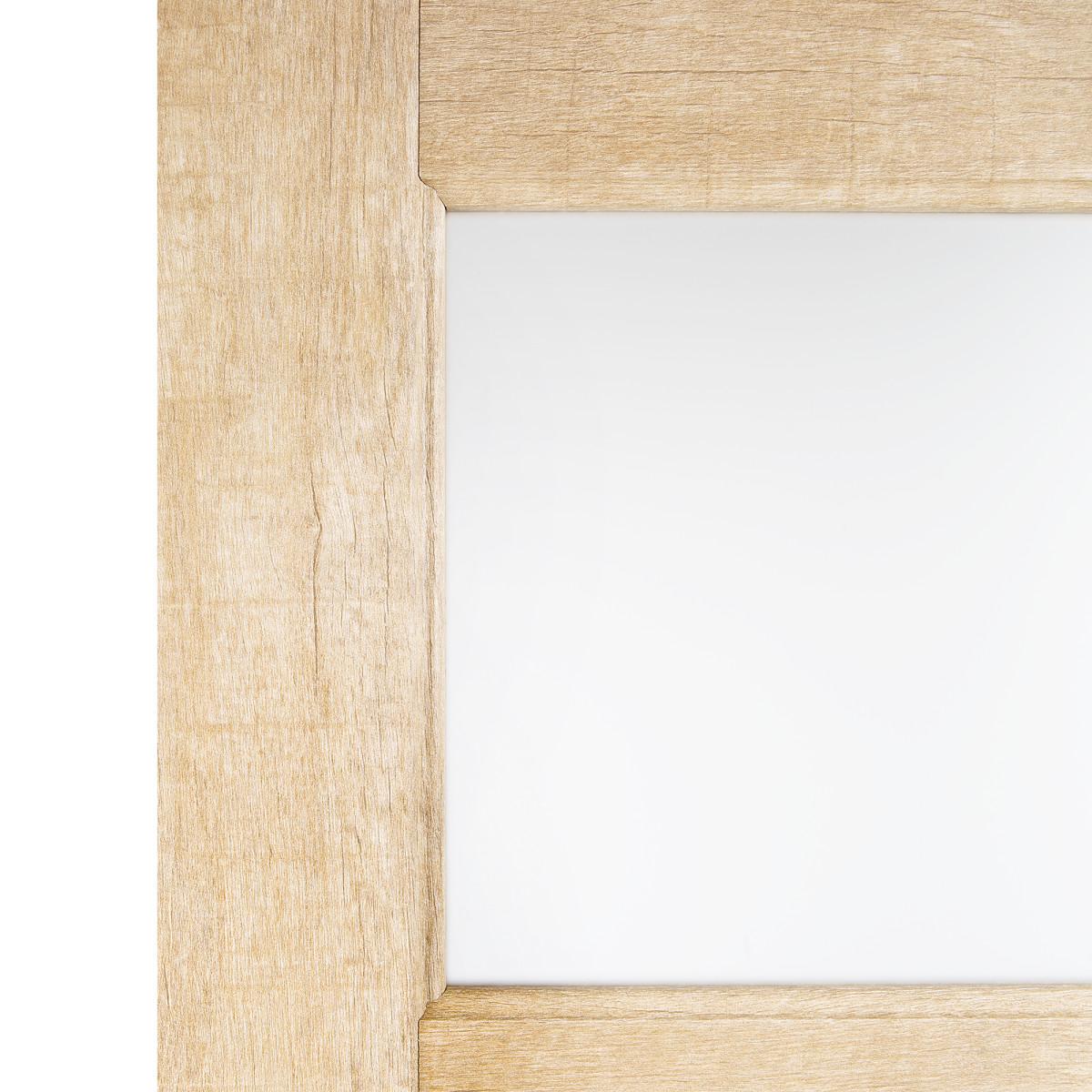 Дверь Межкомнатная Остеклённая Антико 80x200 Цвет Винтажный Дуб