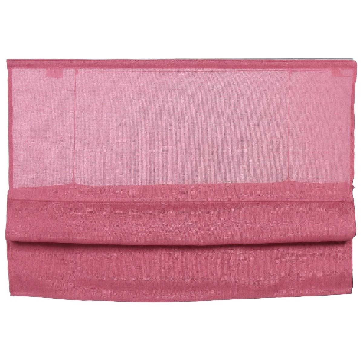 Штора римская Натур 120х160 см цвет розовый