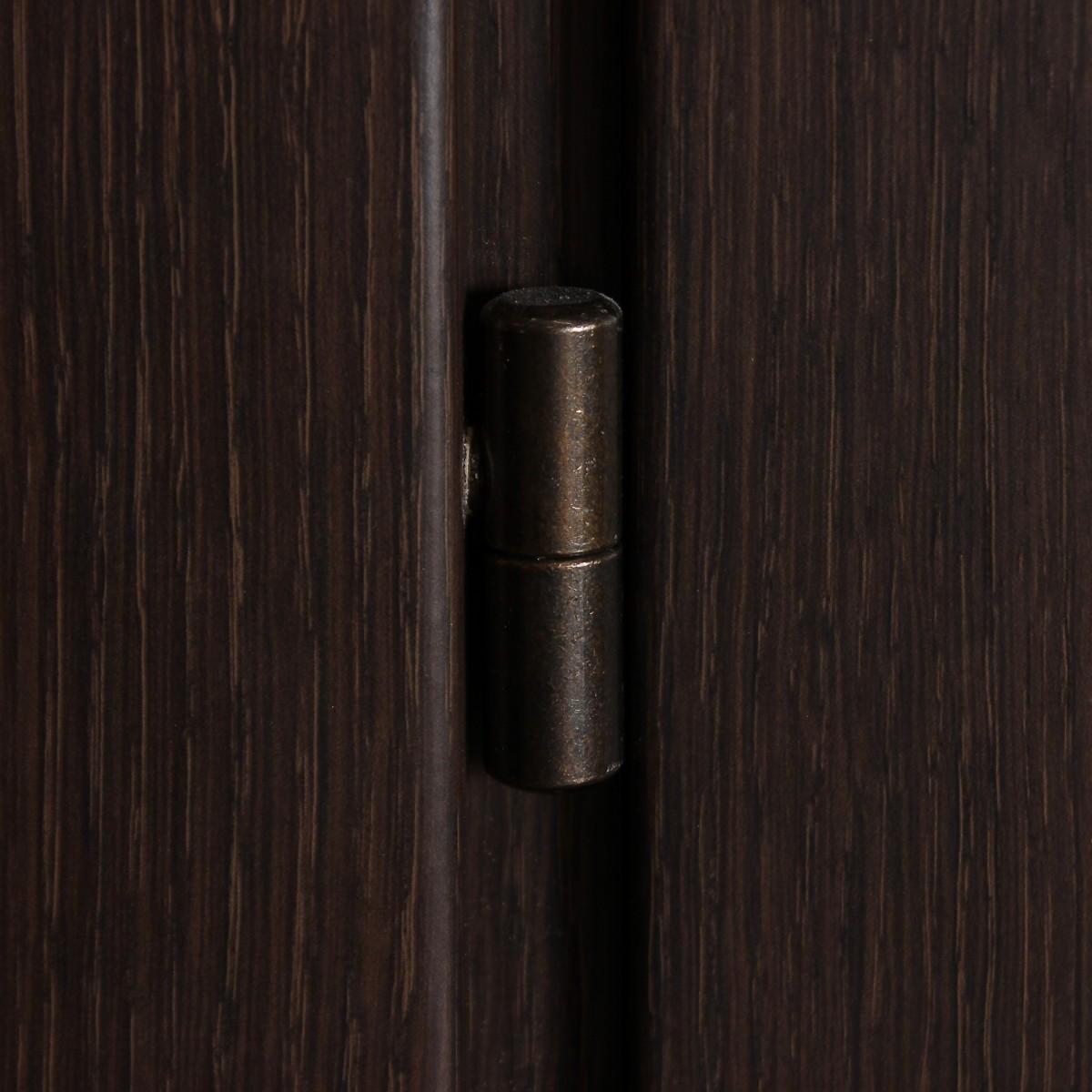 Дверь Межкомнатная Остеклённая Конкорд Cpl 70x200 Цвет Черный Дуб