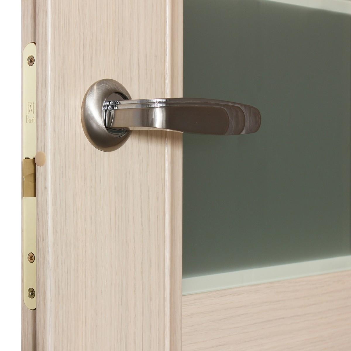 Дверь Межкомнатная Остеклённая Конкорд Cpl 90x200 Цвет Выбеленый Дуб