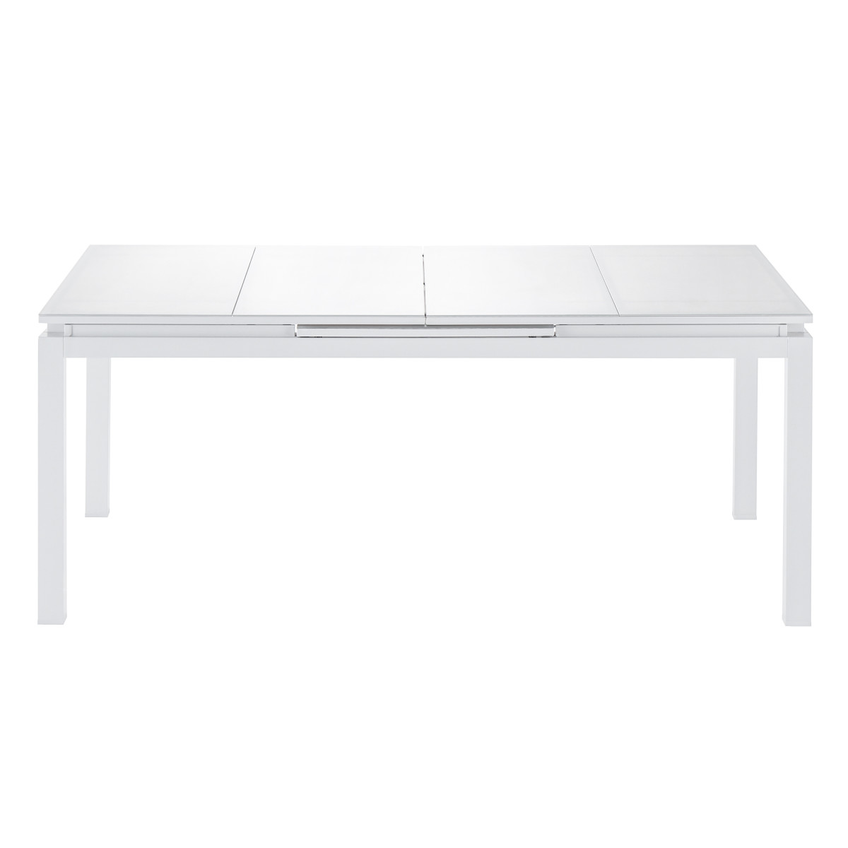 Стол садовый раздвижной Naterial Odissea Easy 180-240х90х76.5 см алюминий белый