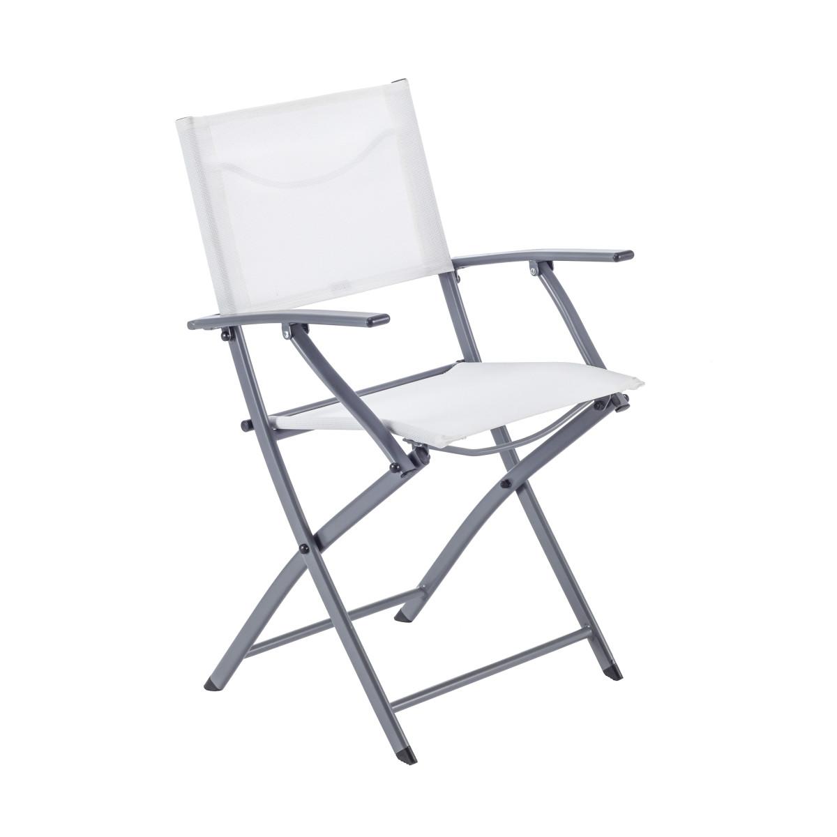 Кресло Naterial Emys Origami Складное 54Х52Х83 Сталь Белый