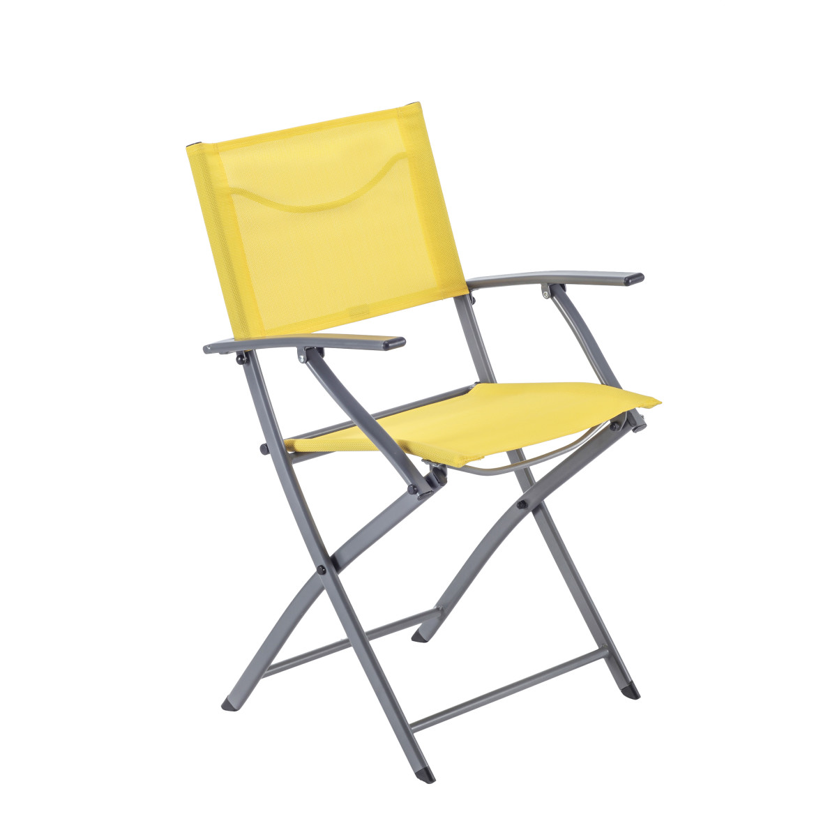 Кресло Naterial Emys Origami Складное 54Х52Х83 Сталь Желтый