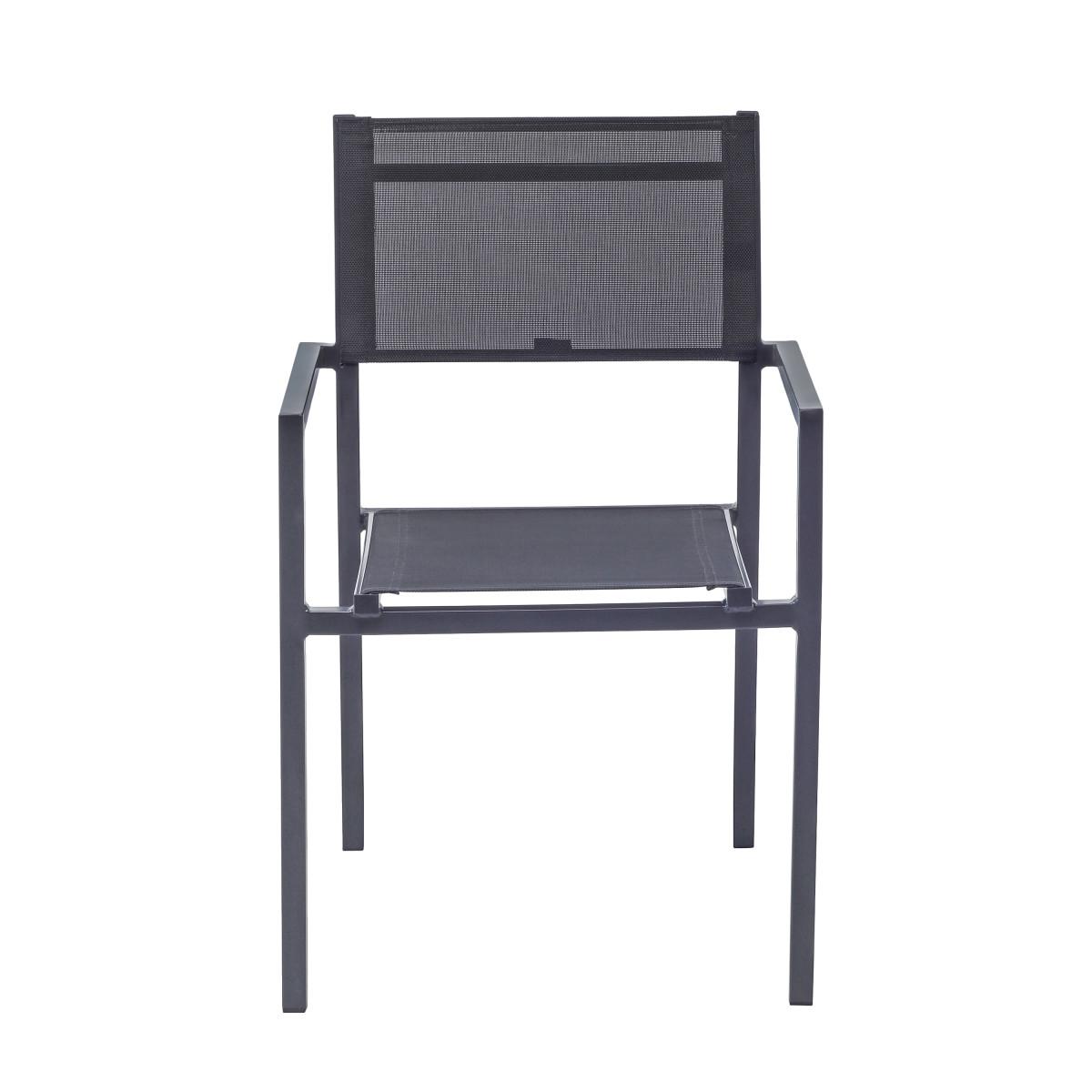 Кресло Naterial Orion Alfa Цвет Темно-Серый