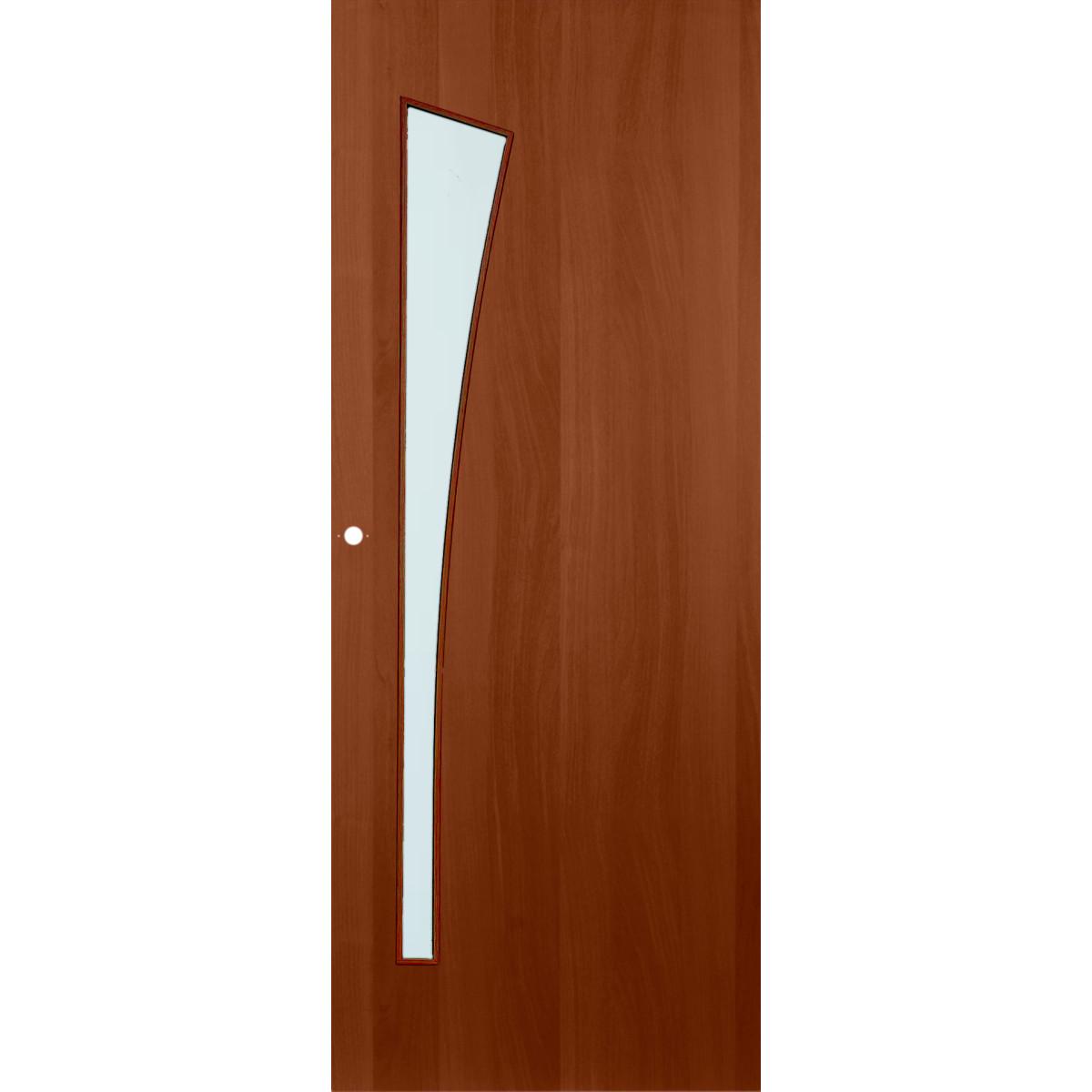 Дверь Межкомнатная Остеклённая Белеза 60x200 Цвет Итальянский Орех