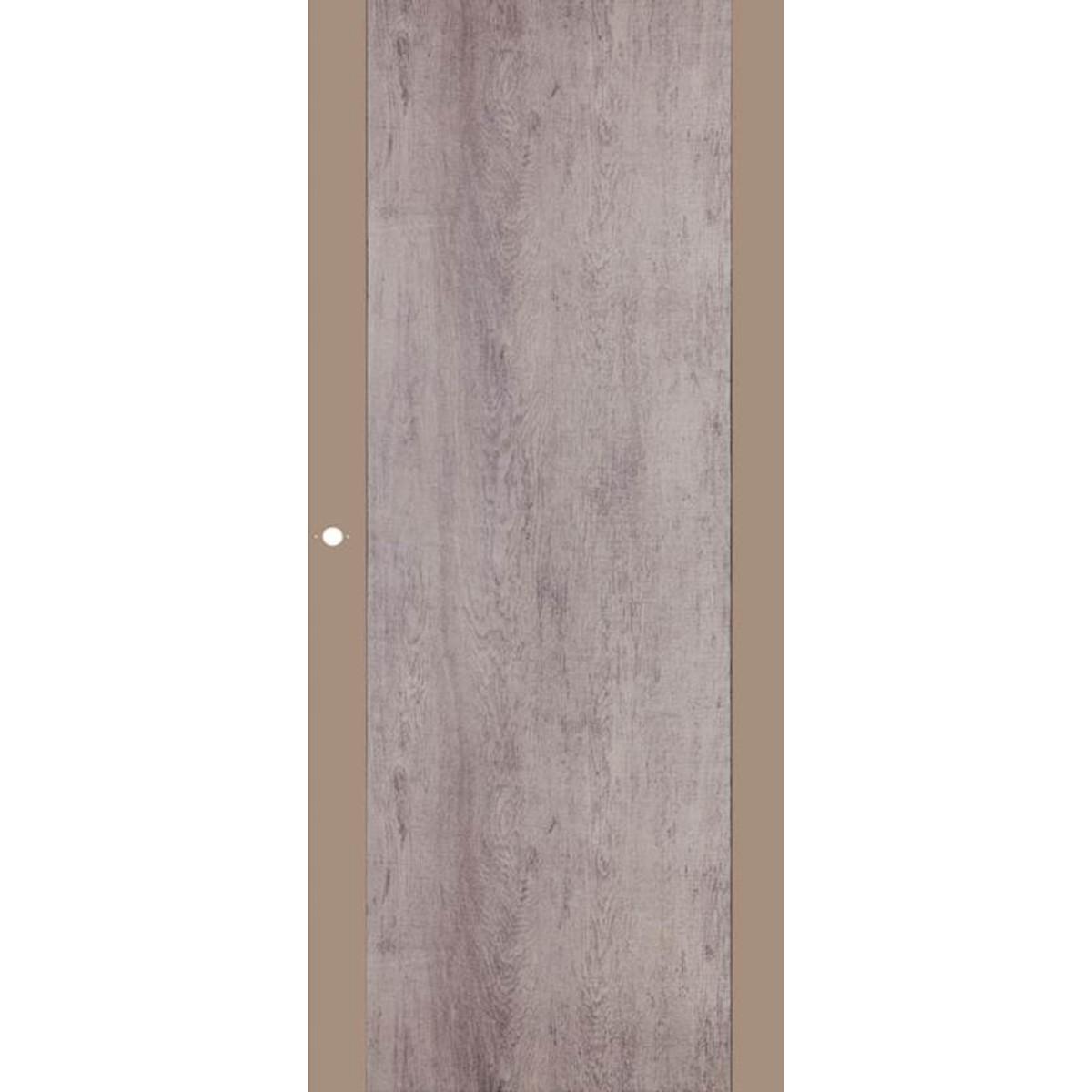 Дверь Межкомнатная Глухая Арт Лайн 80x200 Цвет Какао/Кора