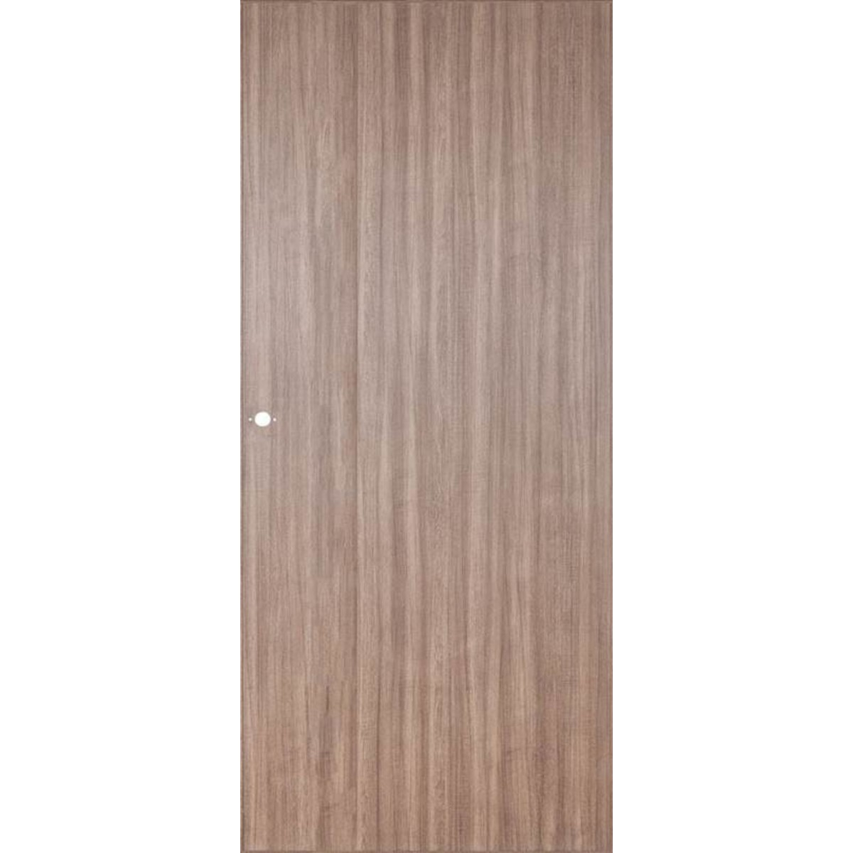 Дверь Межкомнатная Глухая Селена 60x200 Цвет Орех