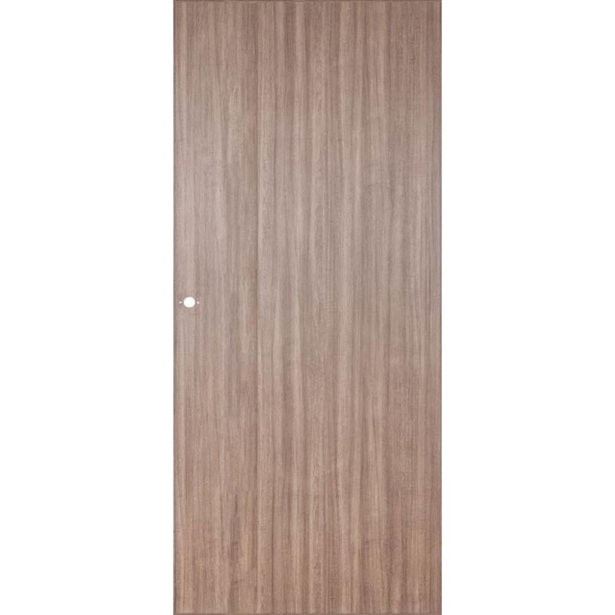 Дверь Межкомнатная Глухая Селена 90x200 Цвет Орех