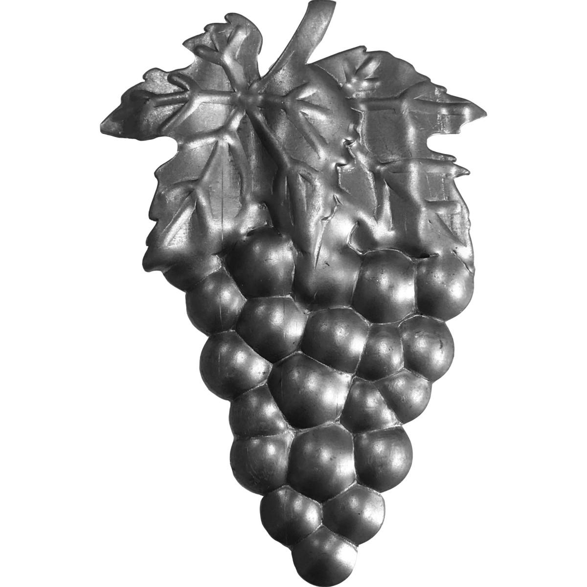 Элемент кованый штамповка Виноград правый