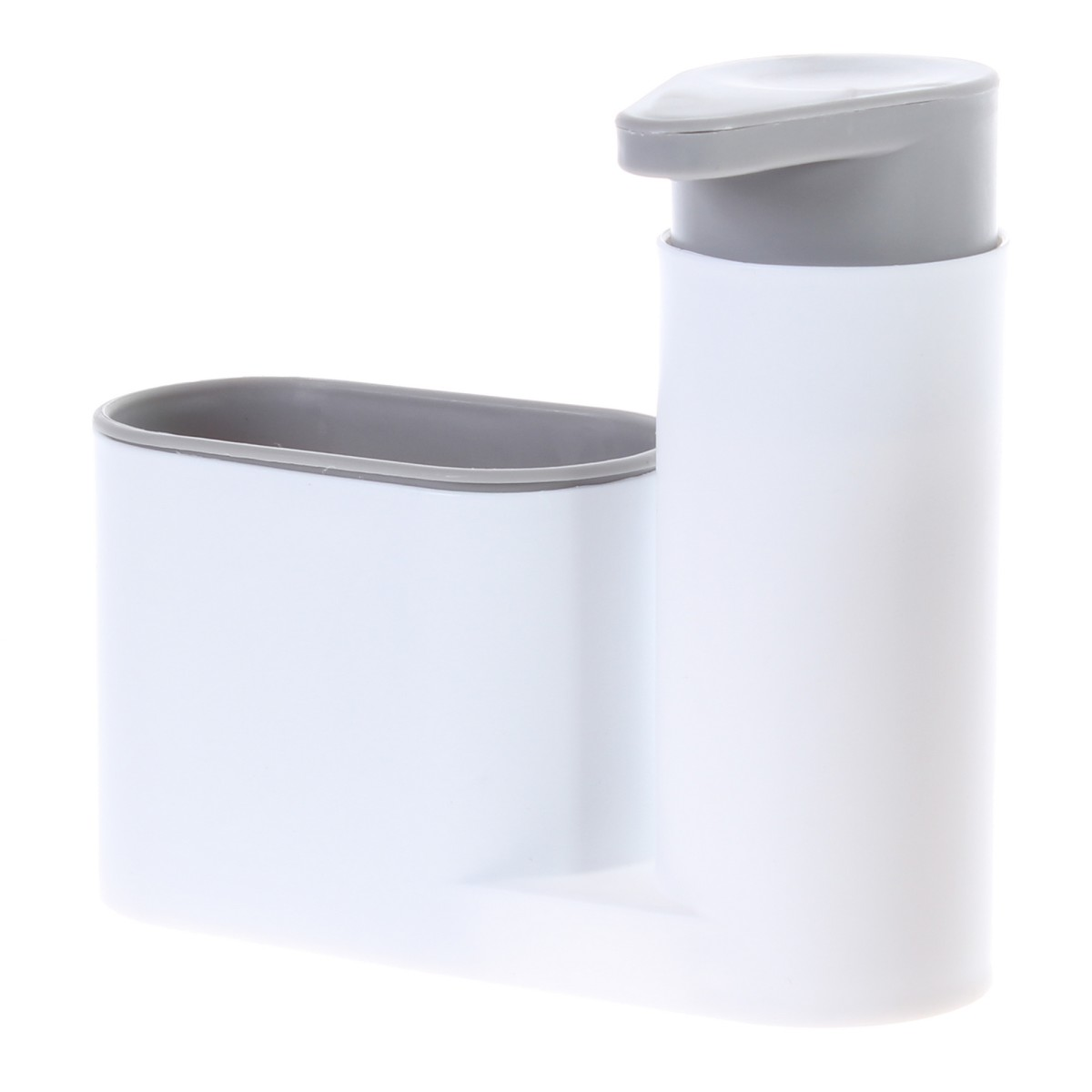 Дозатор для жидкого мыла с подставкой для кухонных аксессуаров