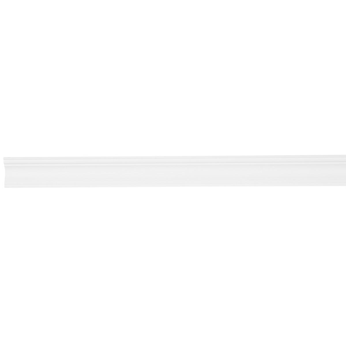Плинтус потолочный ударопрочный D124 2 м 50х50 мм