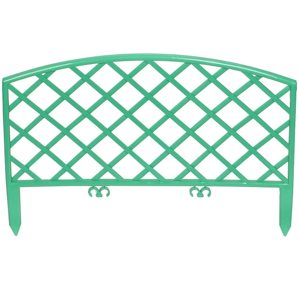 Забор декоративный Плетенка 3.2 м цвет зеленый
