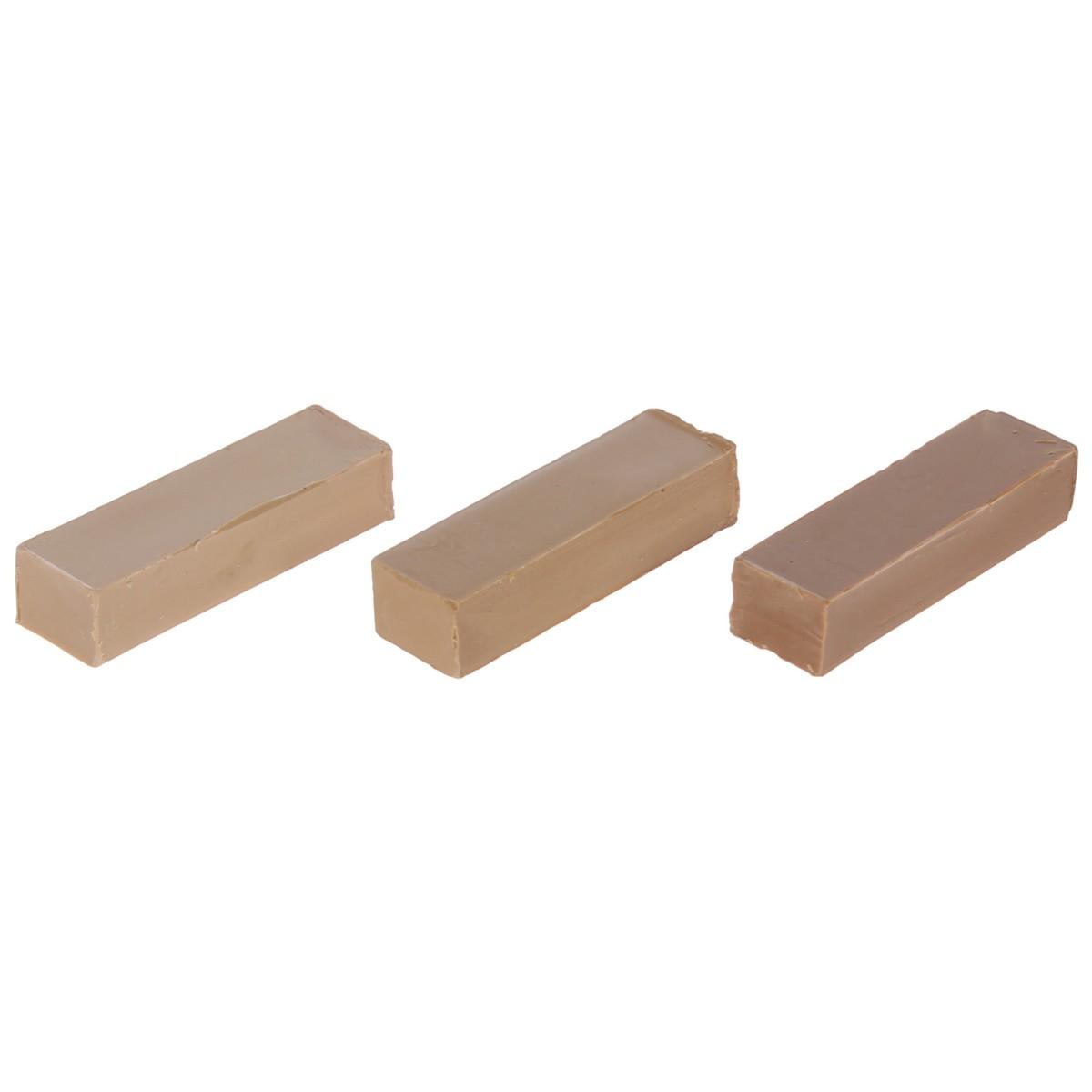 Набор мелков восковых оттенки бежевые 3 шт.