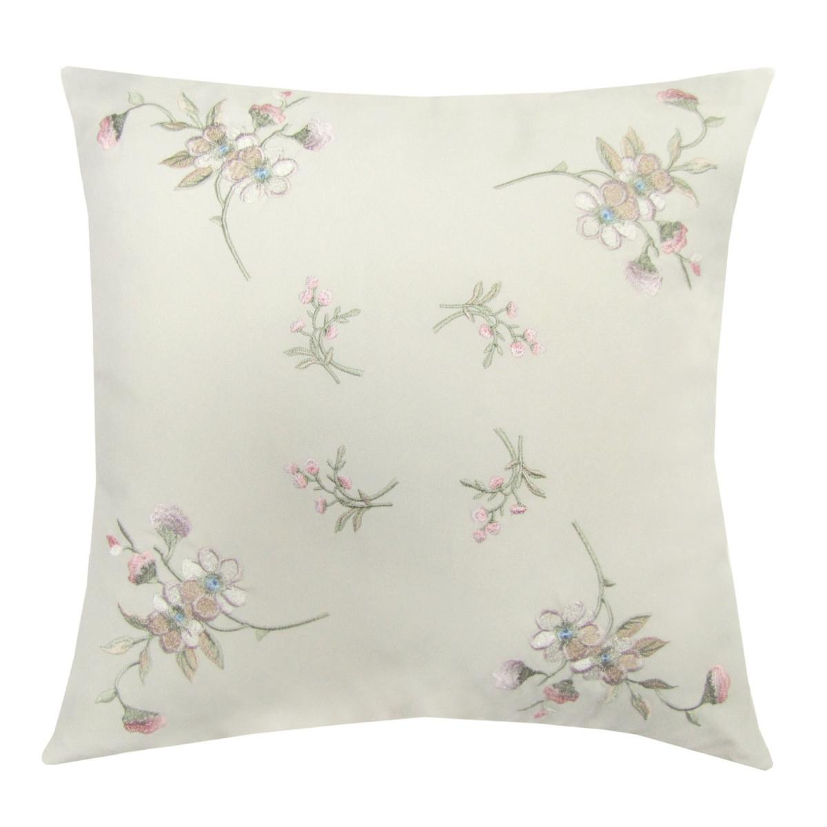 Подушка декоративная Тиффани Цветы мелкие 40х40 см